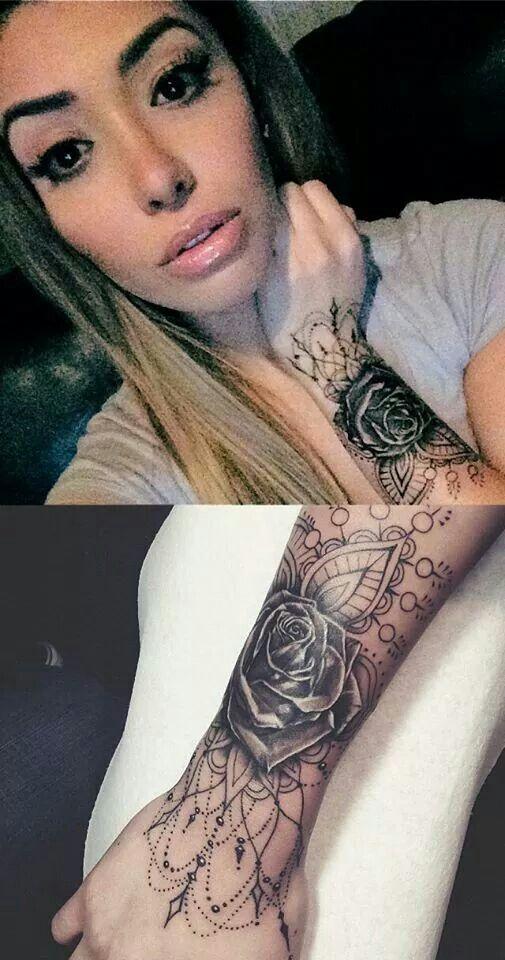 Tattoo... Around my already existing heart tattoo