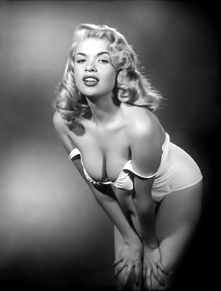 "Jayne Mansfield's ""D"" Cup Cleavage....""D"" elightful                                                                                                                                                     More"