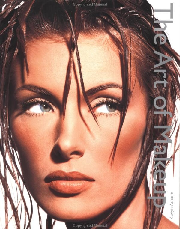 """Kevyn Aucoin's first Book, """"The Art of Makeup"""" was my first coffee table makeup book - learned so much from him - RIP"""