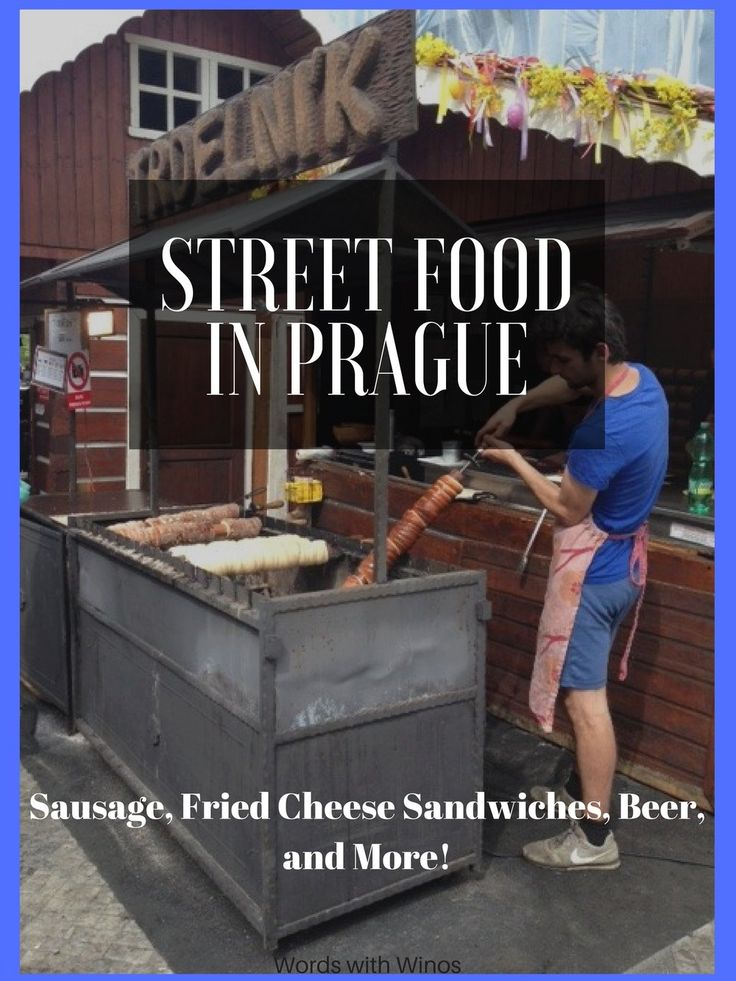 Chow down in the beautiful cobble-stones streets of Prague! The street food is far more delicious than you know
