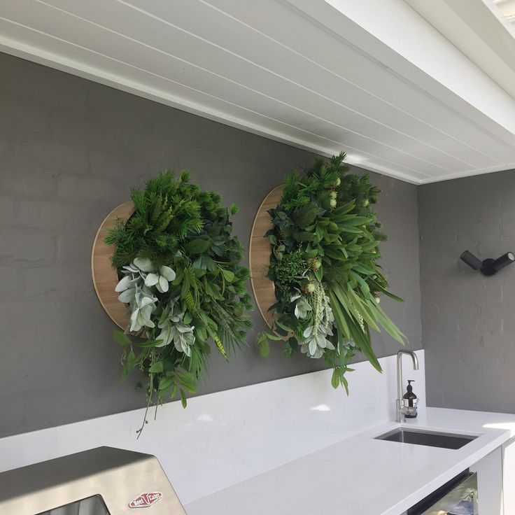 "71 Likes, 3 Comments - Residential & Commercial (@wallenvy) on Instagram: ""Install today in this gorgeous Brighton home. Alfresco envy! #greenery #interiors #interiordesign…"""