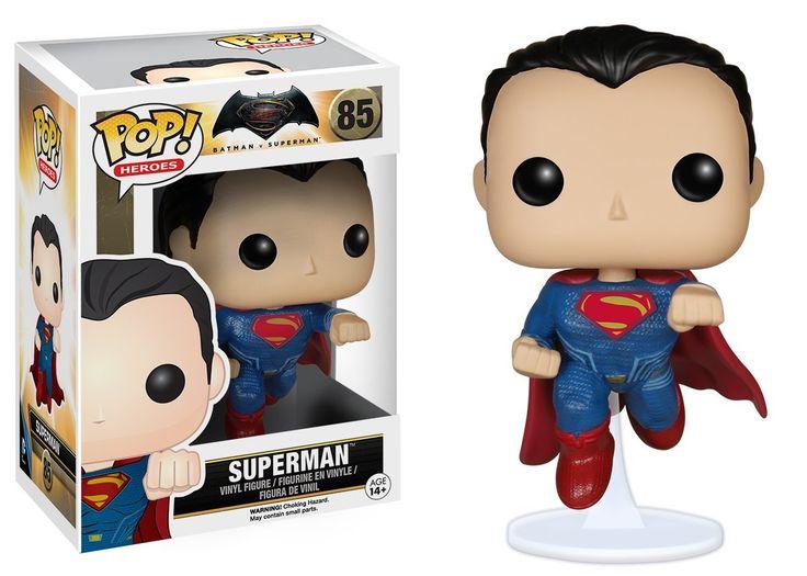 Amazon.com: Funko POP Heroes: Batman vs Superman - Superman Action Figure: Funko Pop! Heroes:: Toys & Games