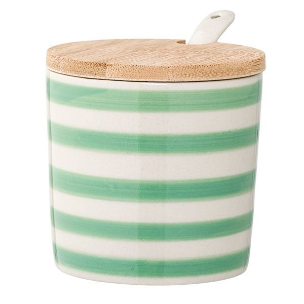 Patrizia Jar mit grünen Streifen