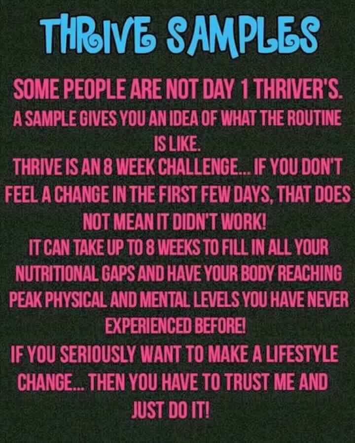 Become the person you are meant to be. Happy and healthy with just 3 simple steps first thing in the morning. And even better, you can earn FREE Thrive by referring just 2 customers! Join me and feel the difference! https://ashvoisine.le-vel.com/ voisine.ash@gmail.com