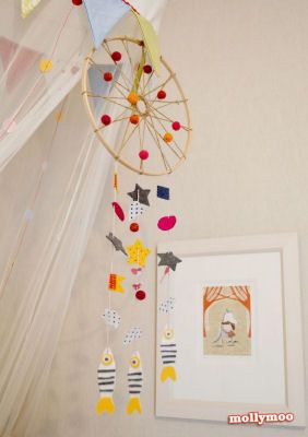 how to make an easy dreamcatcher for kids