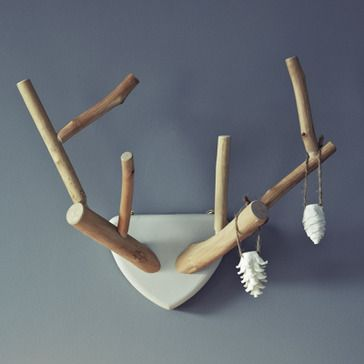 Hand Carved Lime Wood Antlers