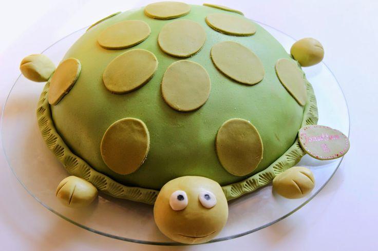 Nesrin`s Torten: Schildkröte-Torte
