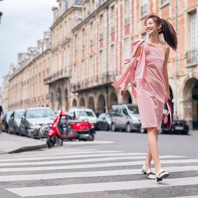 Shooting in Parisian Macau , I missed the days in paris👣 #開心大步走 #巴黎人 @alden_chenyin