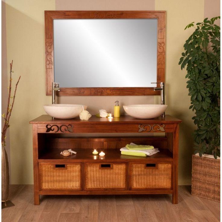 49 best Idée déco salle de bain images on Pinterest Bathroom - teck salle de bain sol