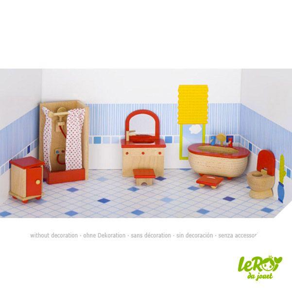 Les 25 meilleures id es concernant poup es en bois sur pinterest poup es de - Mobilier salle de bain bois ...