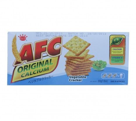 AFC - Vegetable Cracker 200g at Rs.125 with shipping in India.