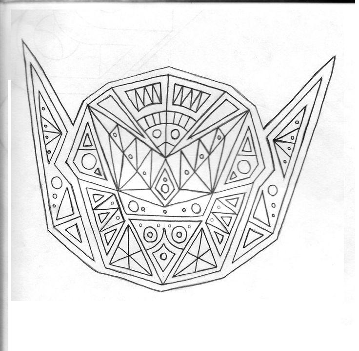 cabeza simetrica