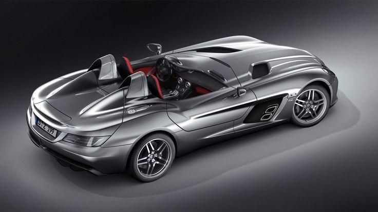 Mercedes Benz SLR McLaren Stirling Moss 1080p Wallpapers