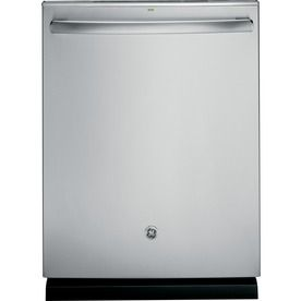 GE 48-Decibel Built-in Dishwasher with Bottle Wash Feature (Stainless Steel) (Common: 24-in; Actual 23.75-in) ENERGY STAR