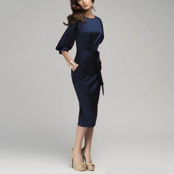 Hanım İnce Katı vestido Renk Bodycon Yarım Kollu Mavi Ofis OL Emek harcama Mini Elbise - http://www.geceelbisesi.com/products/hanim-ince-kati-vestido-renk-bodycon-yarim-kollu-mavi-ofis-ol-emek-harcama-mini-elbise/