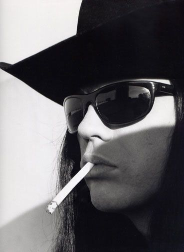 Ian Astbury. Web image, unknown source. Met him one night at the thunderdome in Montreal