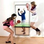 卓球台に変身するドア【The Ping Pong Door】