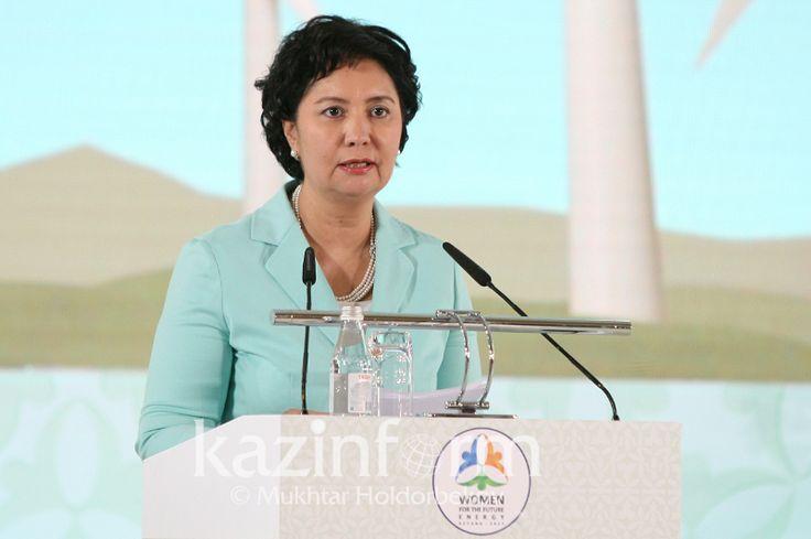 Женщины должны внести вклад в развитие зеленой энергетики - Гульшара Абдыкаликова