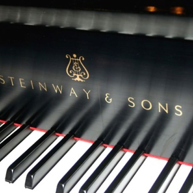 Nothing quite like a Steinway.