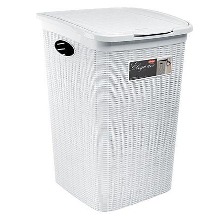 Laundry hamper maybe in the bathroom gordon rd for Small bathroom hamper
