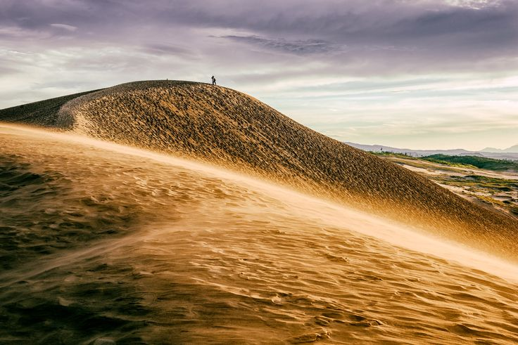 Picture of the Tottori Sand Dunes in Tottori, Japan