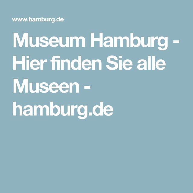 Museum Hamburg - Hier finden Sie alle Museen - hamburg.de
