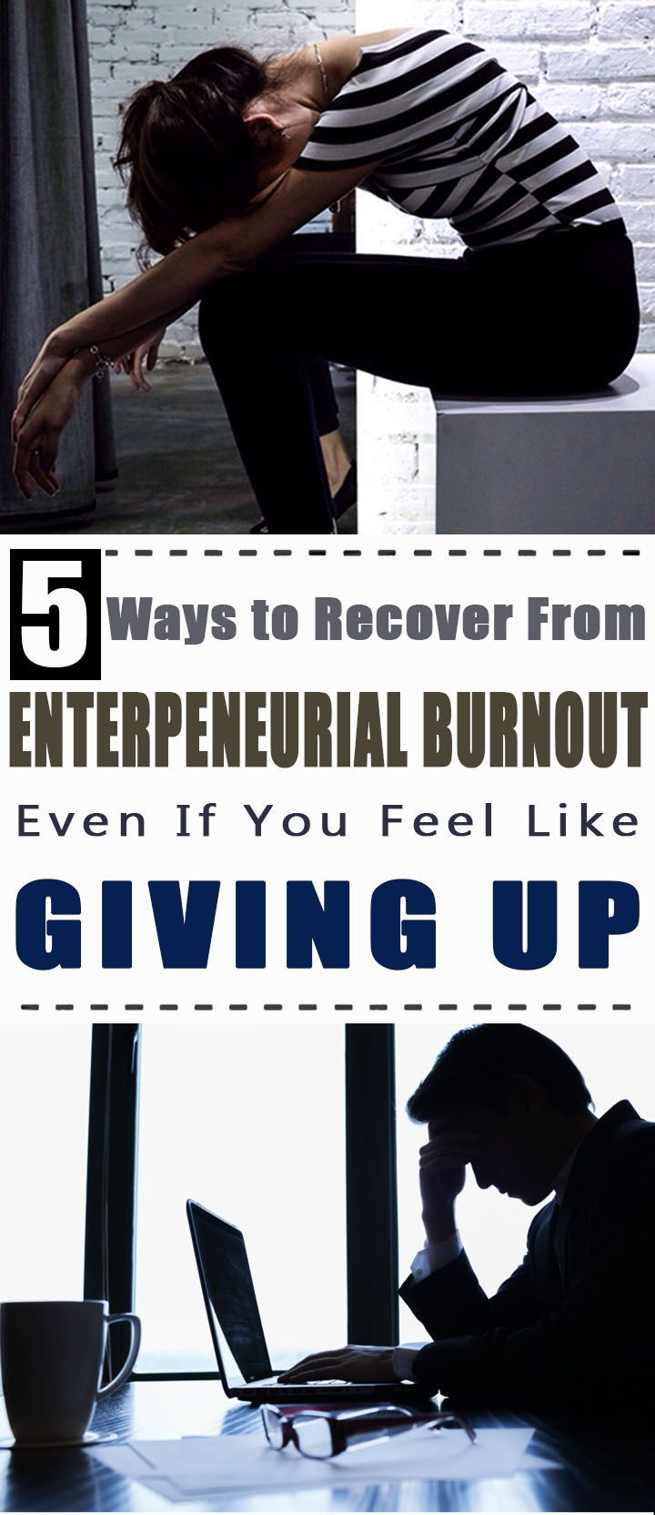 5 Ways to Recover From Entrepreneurial Burnout Even If You Feel Like Giving Up | Healthy Society  entrepreneur quotes | entrepreneur | entrepreneur inspiration | entrepreneurship | entrepreneur ideas | Melanie Duncan | Sasha Holloway | Entrepreneur | Entrepreneurship |