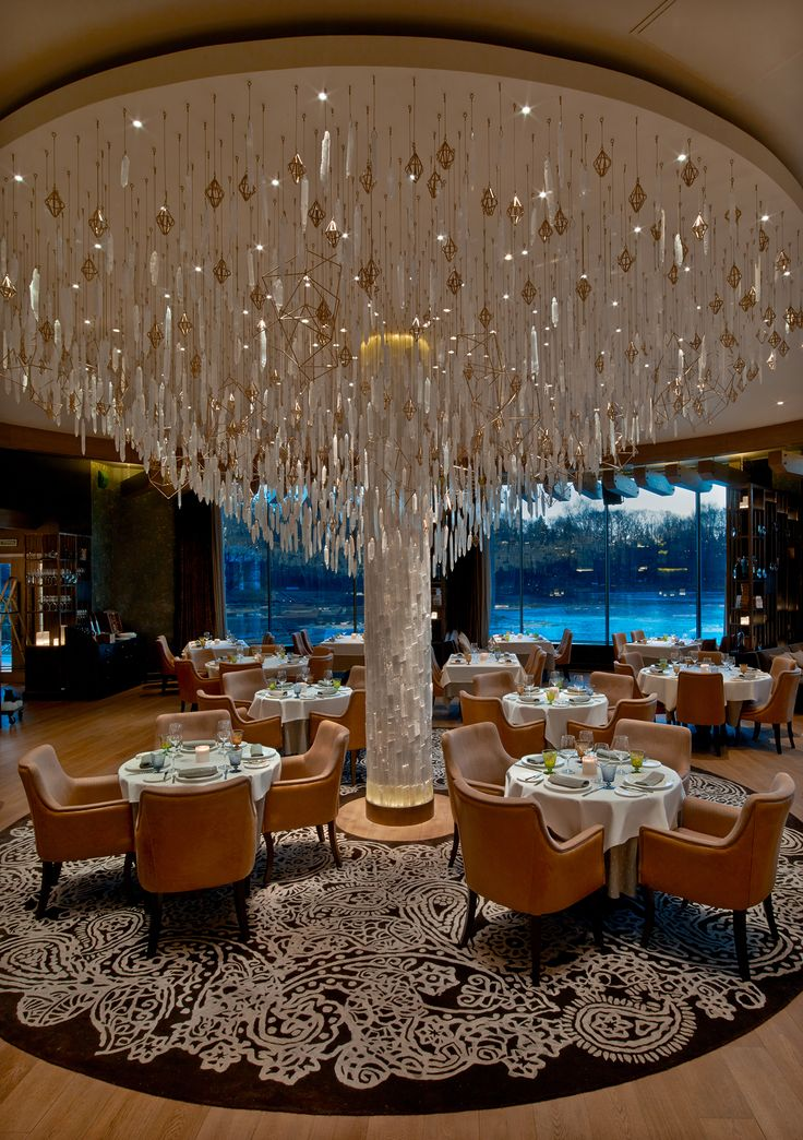 Il Lago Dei Cigni Restauant St. Petersburg (Russia) by The Gallery HBA. #Cravt #DKhome #Craftsmanship #Restaurant #Showroom #Luxuryfurniture