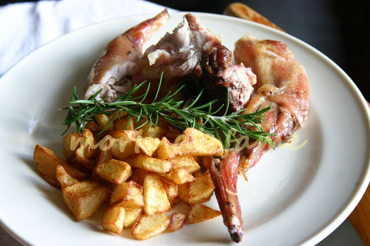 Coniglio arrosto (ricetta dietetica)