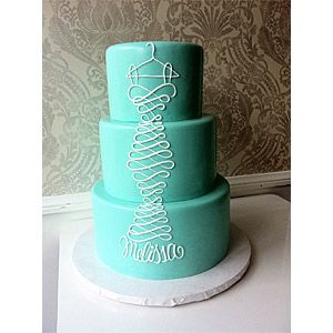 Vanilla Bake Shop - Perfect cake for Bridal Shower, Love It! AND, it is in Tiffany Blue!
