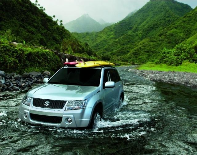 The 2012 Suzuki Grand Vitara:  Tow It!