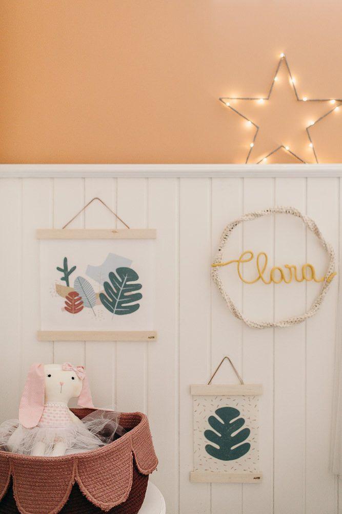Inspire-se com a decoração deste lindo quarto e encontre os produtos certos com …   – Produções MamãeAchei!