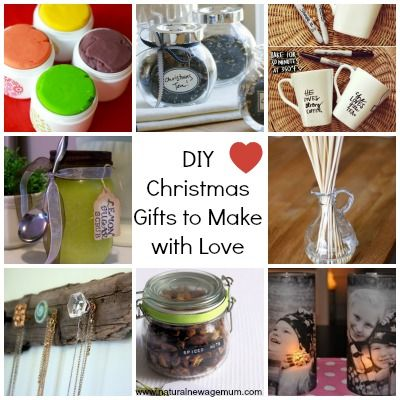 10 diy christmas gifts to make with love upcycled eco for Gifts u can make
