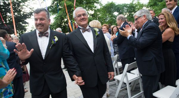 Barney Frank Weds Jim Ready.  The last official act this underbelly operative of the dems does.  Pissing in taxpayers faces would have been more honorable.  I give the whole thing 30 days knowing how he likes a good cabana boy!  He makes a joke out of marriage equality or any type of equality.