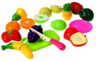 Owoce  Warzywa DO KROJENIA na rzep Bezpieczne 23el