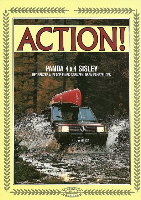 1987 FIAT Panda 4X4 Sisley by Hugo90, via Flickr