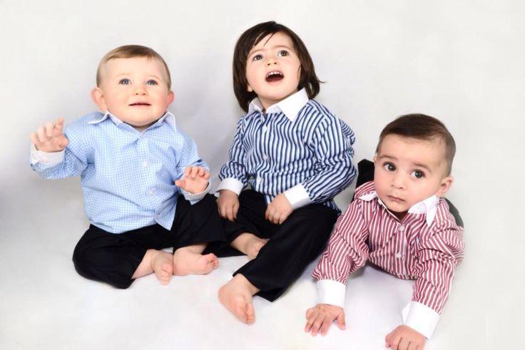 Baby boys designer shirts