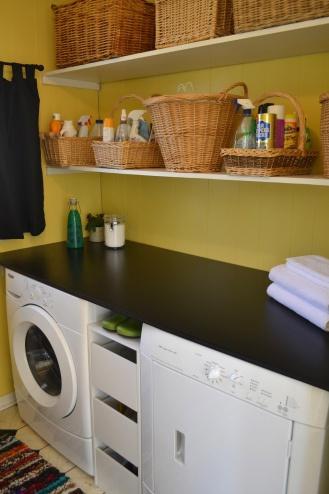 diy laundry station