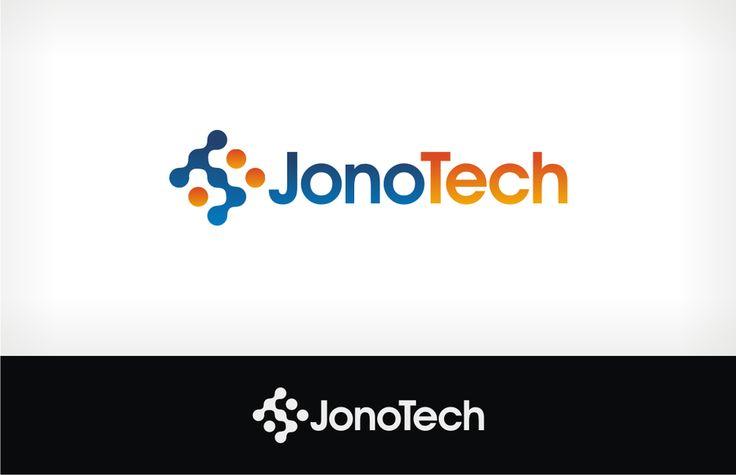JonoTech.com logo design: Software Engineering Firm by John We