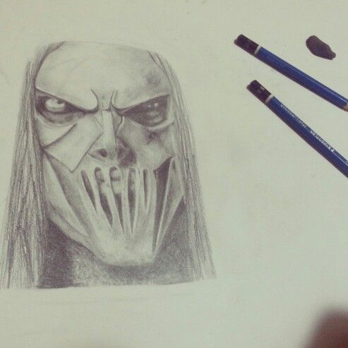 #Slipknot #MickThomson #Portrait #Pencils