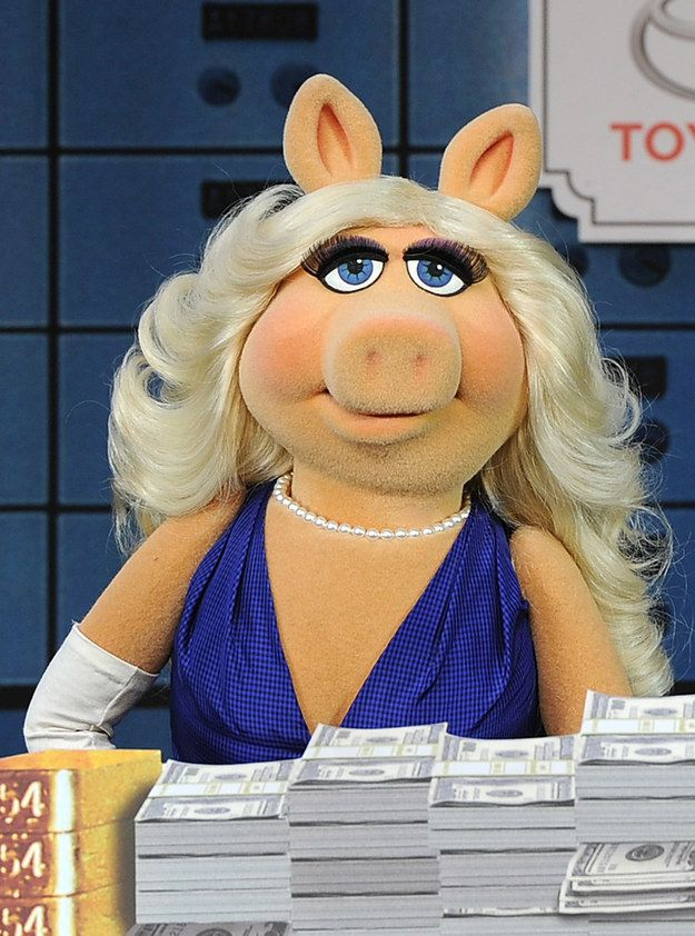 "Hearing the news, Miss Piggy responded, ""Moi is thrilled—but frankly, not surprised."" Neither are we. 