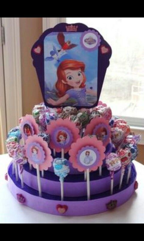 Sofia The First Lollipop Stand