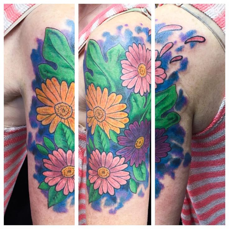 30 Nice Daisy Flower Tattoos                                                                                                                                                                                 More