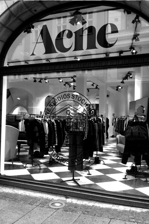 ACNE STUDIOS-By-ADDICTED TO BLACK