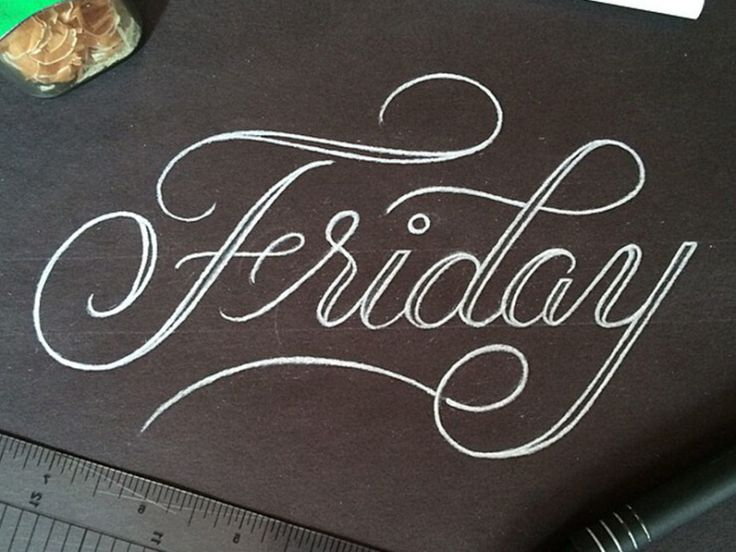 28 Beautiful Examples of Hand Lettering Typography to Inspire You                                                                                                                                                                                 More