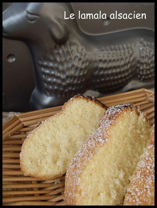 En ce dimanche de Pâques je vous offre la recette du lamala, recette traditionnelle et très célèbre en Alsace de l'agneau...