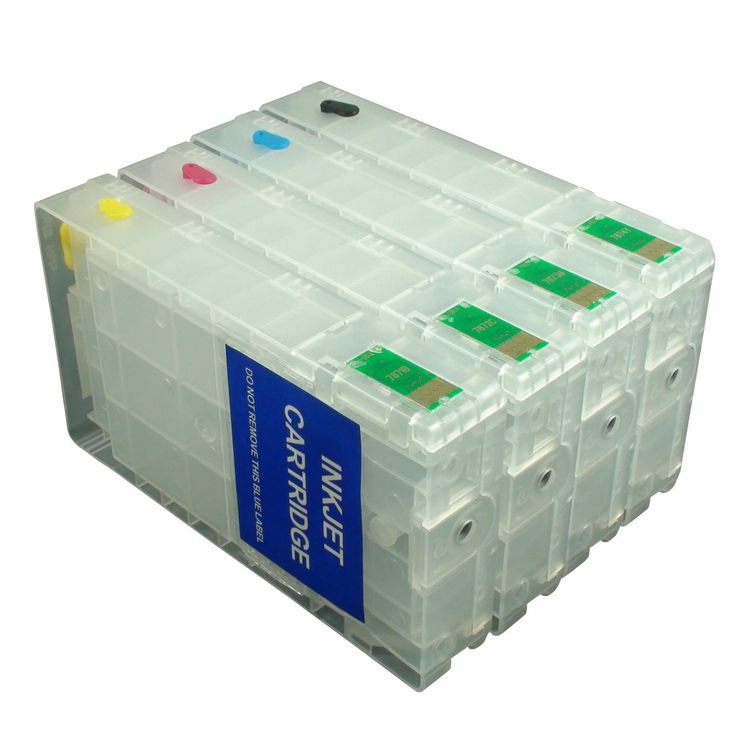 4 Pack Empty Epson 786XL 786 788 Refillable Ink Cartridge