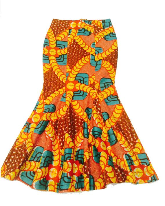 Amira Ankara Long Skirt, Maxi Skirt, Gift Idea, Kitenge Skirt, Colorful, Tribal Skirt, Party Skirt
