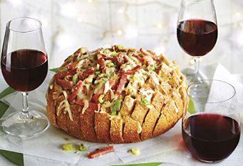 #Recette de pain farciaux trois #fromages et au #salami