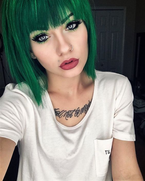 green hair styles 17 best ideas about hairstyles on 5445